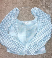 Crop top bluza