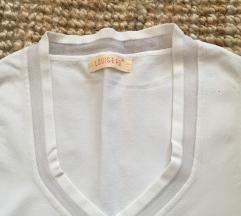 Bela bluza svila/ viskoza S/M