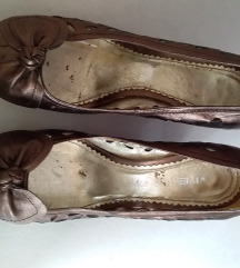 Kozne cipele boja bronze 38