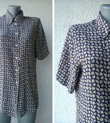 košulja svilena teget drap br 38 RUDNIK