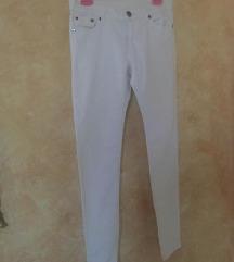 Bele pantalone - farmerke PLUS POKLON