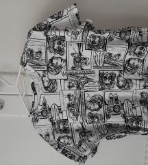 Zara majica na kratke rukave