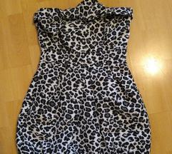 Leopard print haljina veličina S