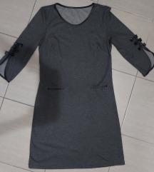 Haljina mis siva toplog materijala