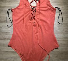 Crveni Forever 21 bodysuit