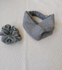 Turban traka i gumica za kosu