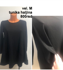 Crna tunika haljina