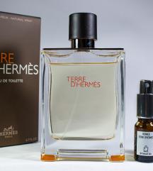 Terre d'Hermes edt - Dekant 5/10ml