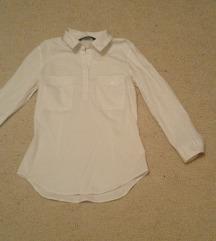 Zara bela košulja xs