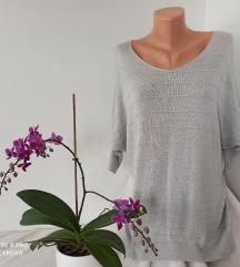 TREND viskozna srebrna bluza vel L-XL