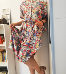Cvetna vintage haljinica