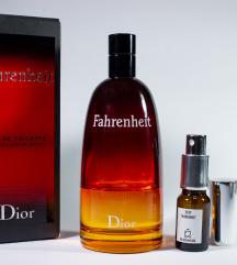 Dior Fahrenheit edt - Dekant 5/10ml