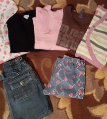 Lot stvari za devojcicu od 7-8 godina