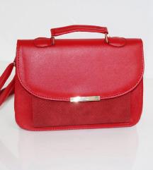 Crvena elegatna torbica*NOVO*