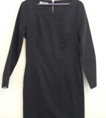 Tamno teget poslovno elegantna haljina kao NOVA
