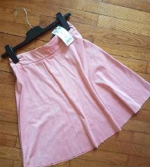 Orsay velvet suknja