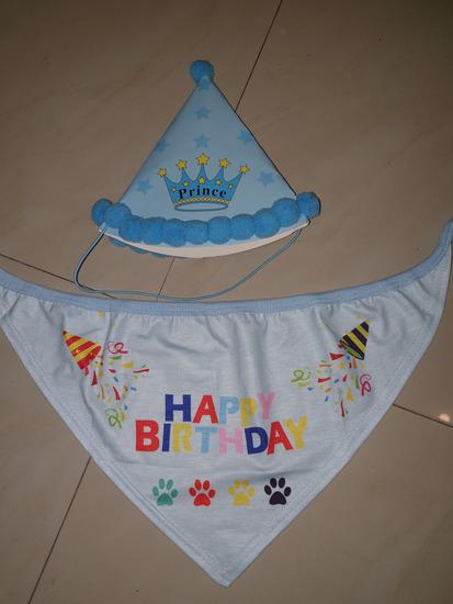 za psa HAPPY BIRTHDAY
