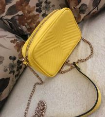 H&M zuta torbica