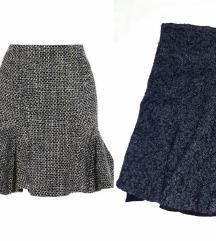 Zara zimska suknja M/L