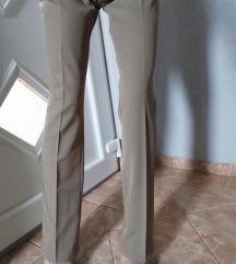 Pantalone nude boje,h&m