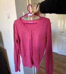 Džemper na raskopčavanje, V dekolte