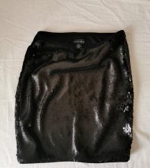 Amisu crna sequin suknja