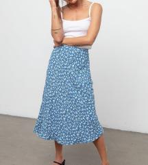 Nova suknja plava
