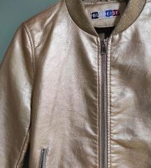 Nova zlatna bomber jakna