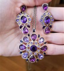 Avon set nakita (ogrlica i mindjuse)