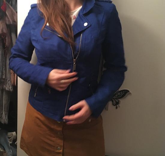 Kraljevsko plava jakna SNIZENO