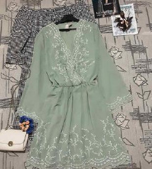 Nova maslinasta moderna haljina