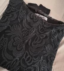PS crna bluza dug rukav