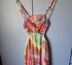 Letnja haljinica bez ledja