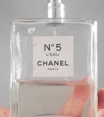 Original,CHANEL 5 L'eau ,ostalo oko 35-37ml