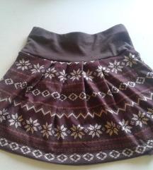 Fishbone sarena suknjica , rasprodajaaa