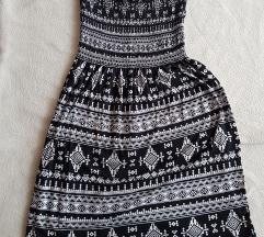 New yorker crno bela haljina