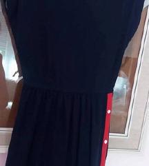 Teget haljina sa dugmicima