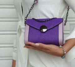Ljubicasta torbica