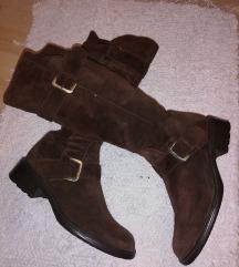 Italijanske čizme - kože - SNIŽENE