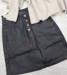Nova kozna suknjica s/xl