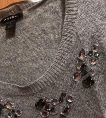 Amisu sivi džemper