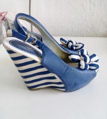 Emelie Strandberg mornarske sandale 37
