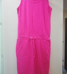 Pink haljina bez rukava