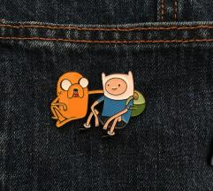Adventure time broševi - NOVO