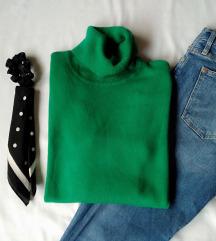 Zeleni džemper/rolka