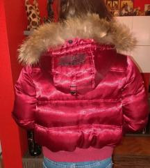 Bomb Boogie jakna sa prirodnim krznom  SOK CENA