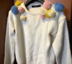 Džemper sa bućkicama