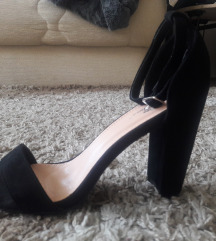 Crne sandale NOVO