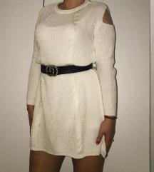 Bela džemper haljina