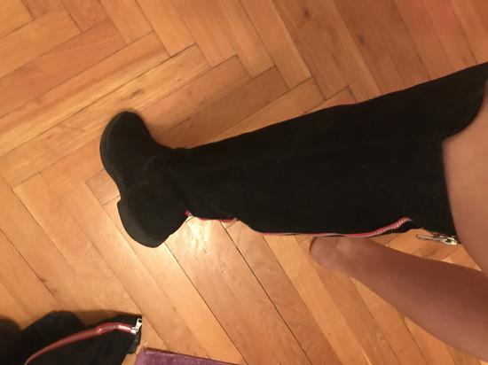 Cizme Graceland preko kolena